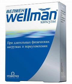 Витамины Wellman для мужчин