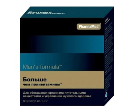 Man's Fromula