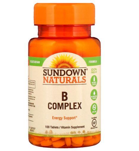 Sundown Naturals B Complex